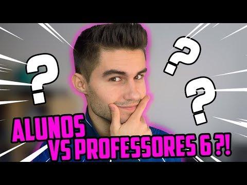 VOU FAZER ALUNOS VS PROFESSORES 6?!