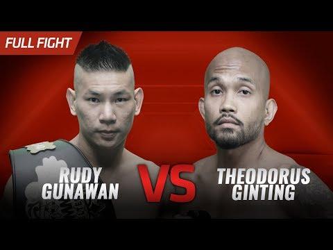 🔥 Rudy &39;Ahong&39; Gunawan vs Theodorus Ginting  One Pride FN 30