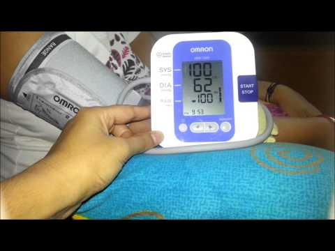 How to Use Omron HEM 7203 Upper Arm BP Monitor