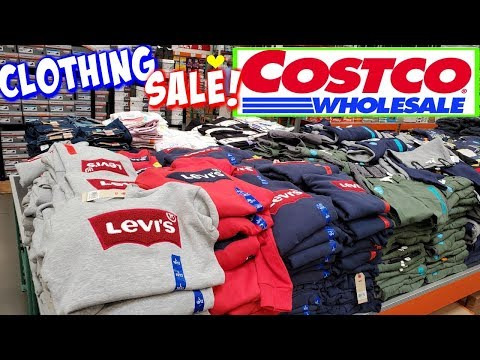 COSTCO * SHOP WITH ME * CLOTHING SALE ! SWEATERS AND MORE 2019