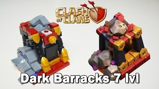 LEGO Clash of Clans: Dark Barracks Level 7 - MOC Instruction