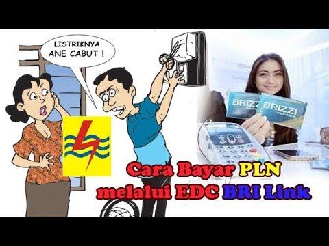 Cara bayar PLN Pascabayar lewat EDC Brilink
