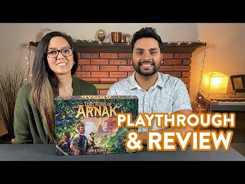 Lost Ruins of Arnak - Playthrough & Review