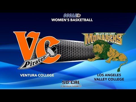 Women's Basketball: LA Valley College at Ventura College, Saturday 3/4/17 @ 7pm