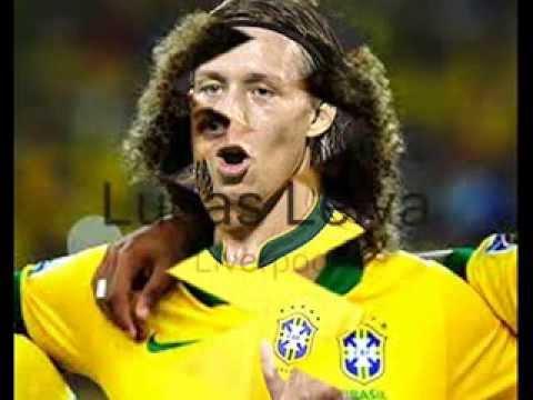 White brazilian footballers - YouTube