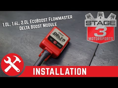 Ford 1.0L, 1.6L, and 2.0L EcoBoost Flowmaster Delta Boost Module Install