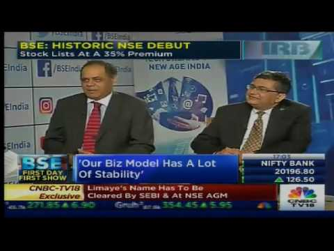 BSE: HISTORIC NSE DEBUT. Stock Lists At A 35% Premium