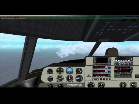 FSX - Buffalo Airways French Polynesia Tour - C-46 Commando - Leg 21