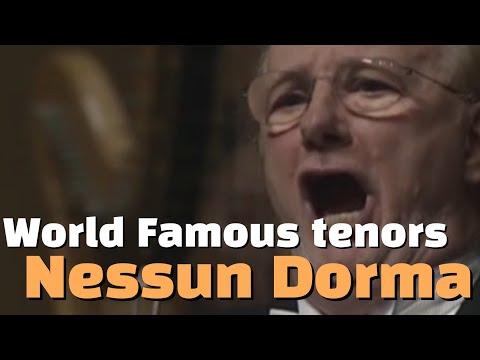 14 World Famous Tenors Sing Nessun Dorma!