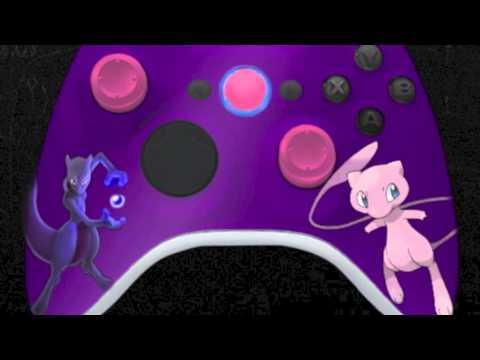 Pokemon Edition Kustom Kontrollerz Custom Controllers Exclusively For XBOX 360 YouTube