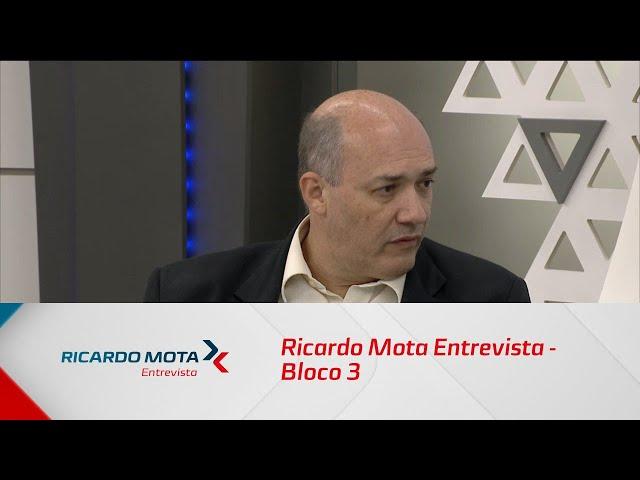 Ricardo Mota Entrevista - Bloco 3 - 18/08/2019
