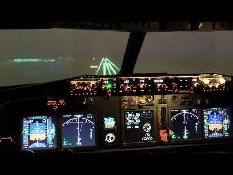 Night Landing at Narita International Airport (RJAA)