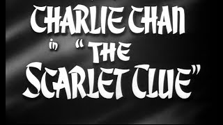 Crime Mystery Movie - Charlie Chan in The Scarlet Clue (1945)