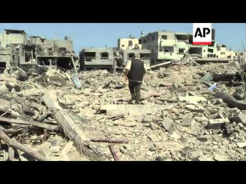 People return to shattered homes as ceasefire holds between Hamas and Israel