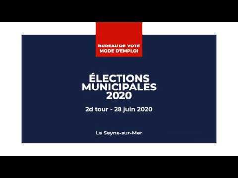 Bureau de vote - Mode d'emploi (28 juin 2020)