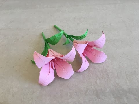 How to make paper lily / flower tutorial | Priti Sharma