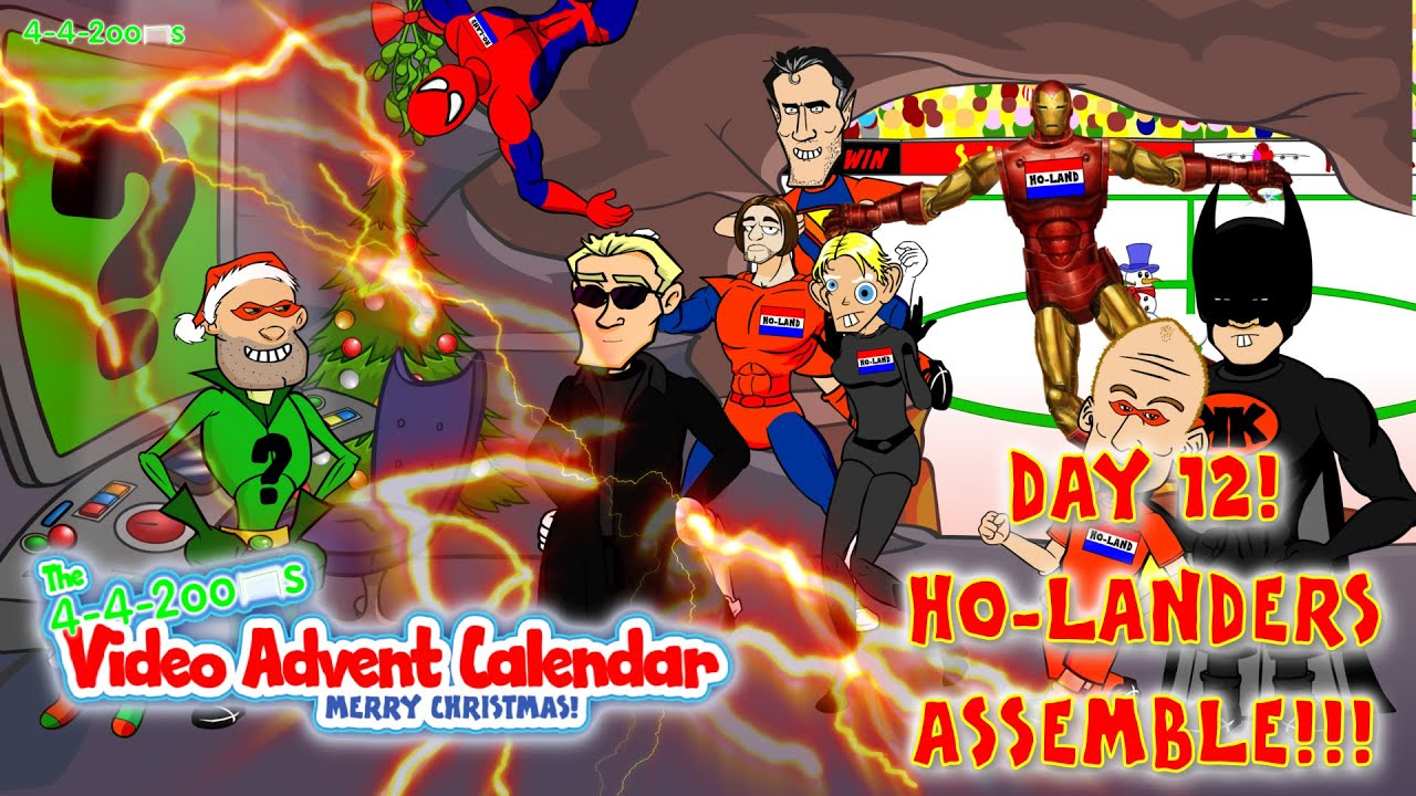 Holanders Assemble Day 12 442oons Video Advent