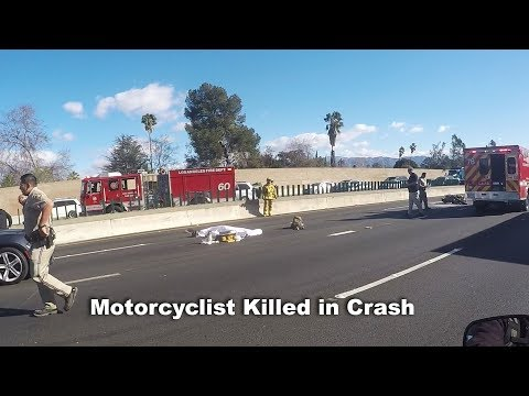 Motorcycle accident 405 north today