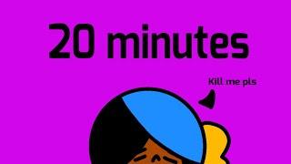 20 minute animation challenge- Kenna edition B)