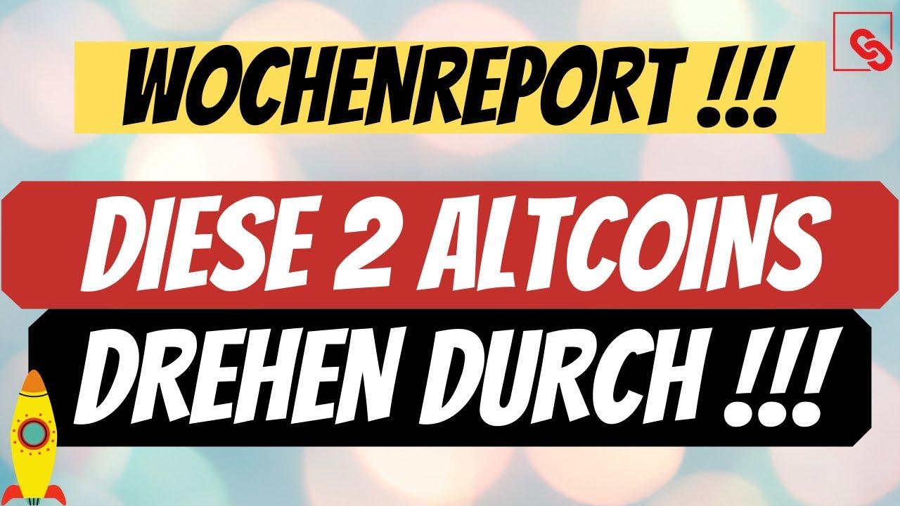 DIESE 2 ALTCOINS DREHEN GERADE AUF | BITCOIN NEWS DEUTSCH