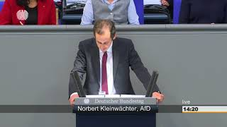 4. Rede - Global Compact for Migration - Norbert Kleinwächter AfD