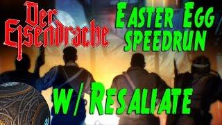 Der Eisendrache EE Pistols Only Speed Run w/ Resaliate (COD BO3 Zombies)
