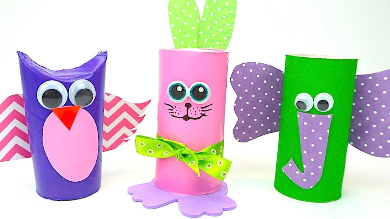 Рукоделие для малышей, делаем игрушки своими руками - YouTube