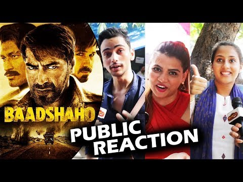 Baadshaho Movie - First Day First Show - Public Excitement - Ajay Devgn, Emraan Hashmi