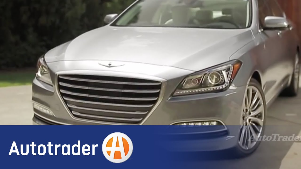 2015 Hyundai Genesis  New Car Video Review  Autotrader  YouTube