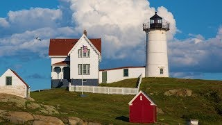 Peaceful music, Relaxing music, Instrumental music 'Nubble lighthouse' by Tim Janis