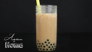 Asian at Home | Boba Milk Tea