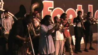 To Be Continued Brass Band performing