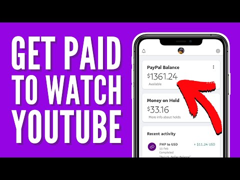 How to Make PayPal Money For Watching YouTube Videos 2021 (Earn To Watch Videos Online)
