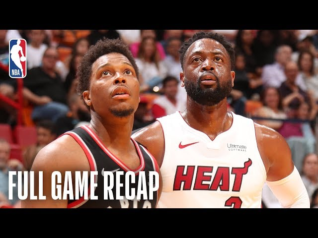 RAPTORS vs HEAT | Toronto Ties Franchise Record With 21 3-Pointers | March 10, 2019