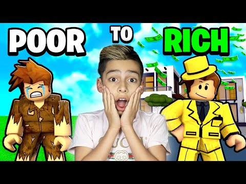 POOR to RICH in Roblox Brookhaven!   Royalty Gaming