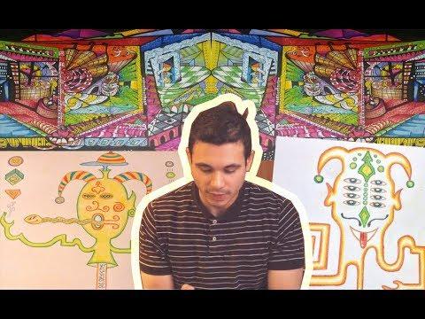 Reddit Psychonauts Draw Their DMT Trips    WOW! - YouTube