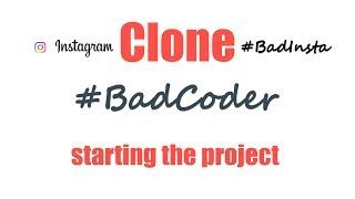 BadInsta #1 - Starting the project! Laravel + Agular Instagram clone!