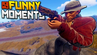 Rust: Funny Moments & EMBLEM BATTLE!