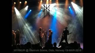 Myrkur @ Sentrum Scene, Oslo, Norway - 19-MAR-2016