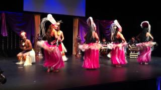 Cook Island Dancers at Most Glamorous Lady International 2013