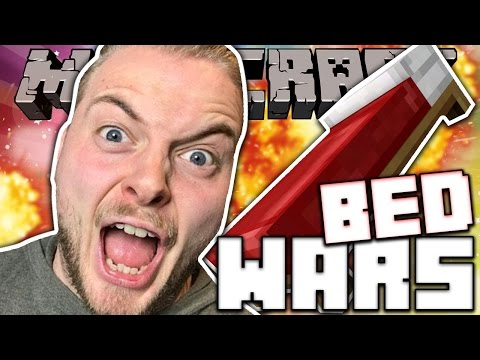 BIGGEST BEDWARS NOOB!! - MINECRAFT MINI GAME!