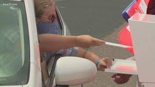 Minneapolis opens drive-thru ballot drop-off location