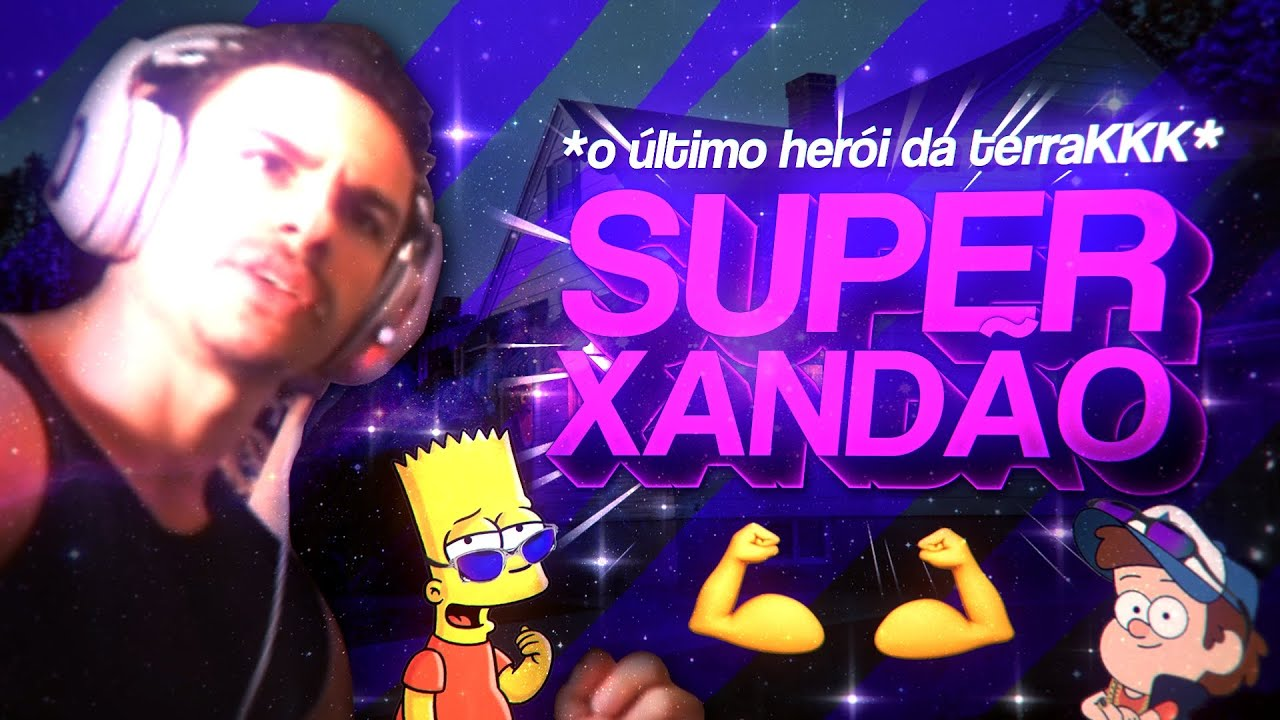BEAT DO SUPER XANDÃO - O Último Herói da Terra (FUNK REMIX) by Sr. Nescau & @Servive