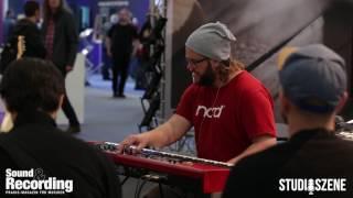 Musikmesse 2017 Lars Peter prasentiert das Clavia Nord Stage 3
