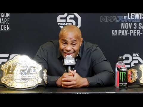UFC 230: Daniel Cormier on Jon Jones trilogy