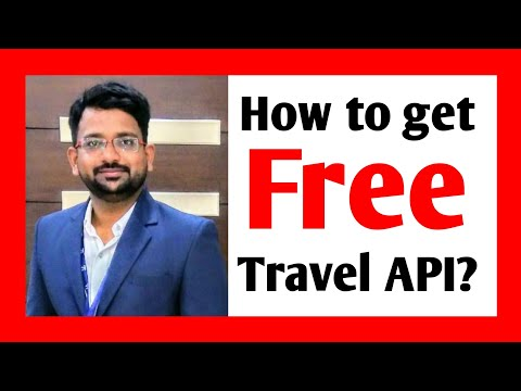 Free API for Flight Booking and Hotel Booking | Free Travel API | Free XML