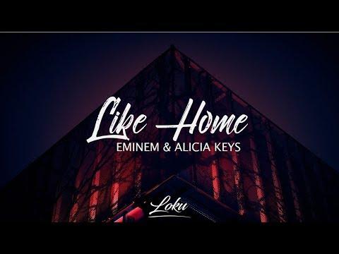 Eminem - Like Home (Lyrics) ft. Alicia Keys