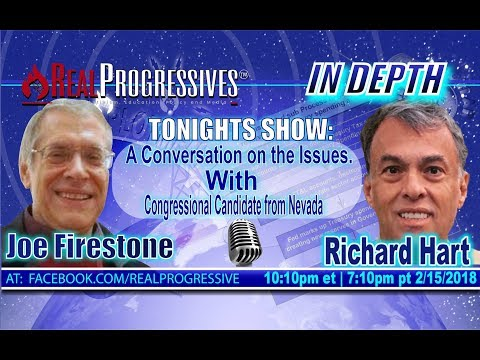 A Conversation with Richard Hart; Candidate for Congress, Nevada, 10th CD