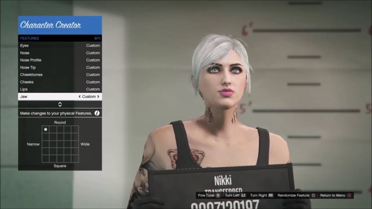 Gta  Online How To Make A Hot Girl Character Cute Blonde Creation