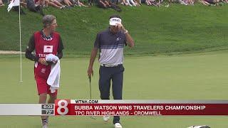 Bubba Watson rallies, wins 2018 Travelers Championship